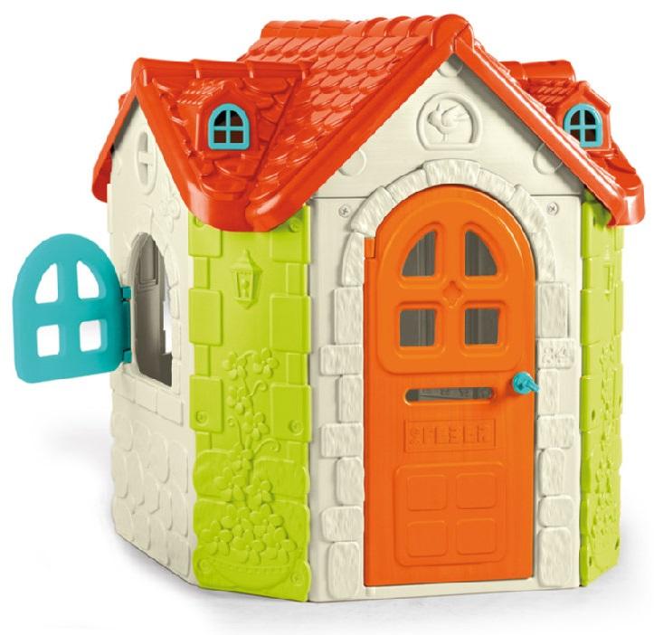 Feber Fancy House Игровой пластиковый домПластиковые домики для дачи<br>Feber Fancy House Игровой пластиковый дом<br>