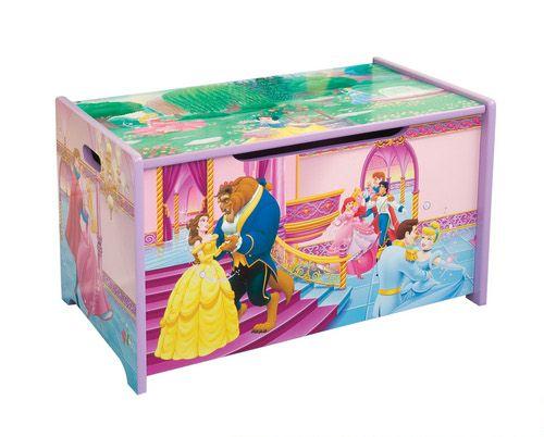 Короб для игрушек - ПринцессаКорзины для игрушек<br>Короб для игрушек - Принцесса<br>