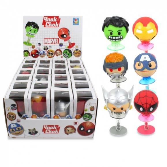 Купить со скидкой Игрушка-прыгун Чпок-Скок: Marvel