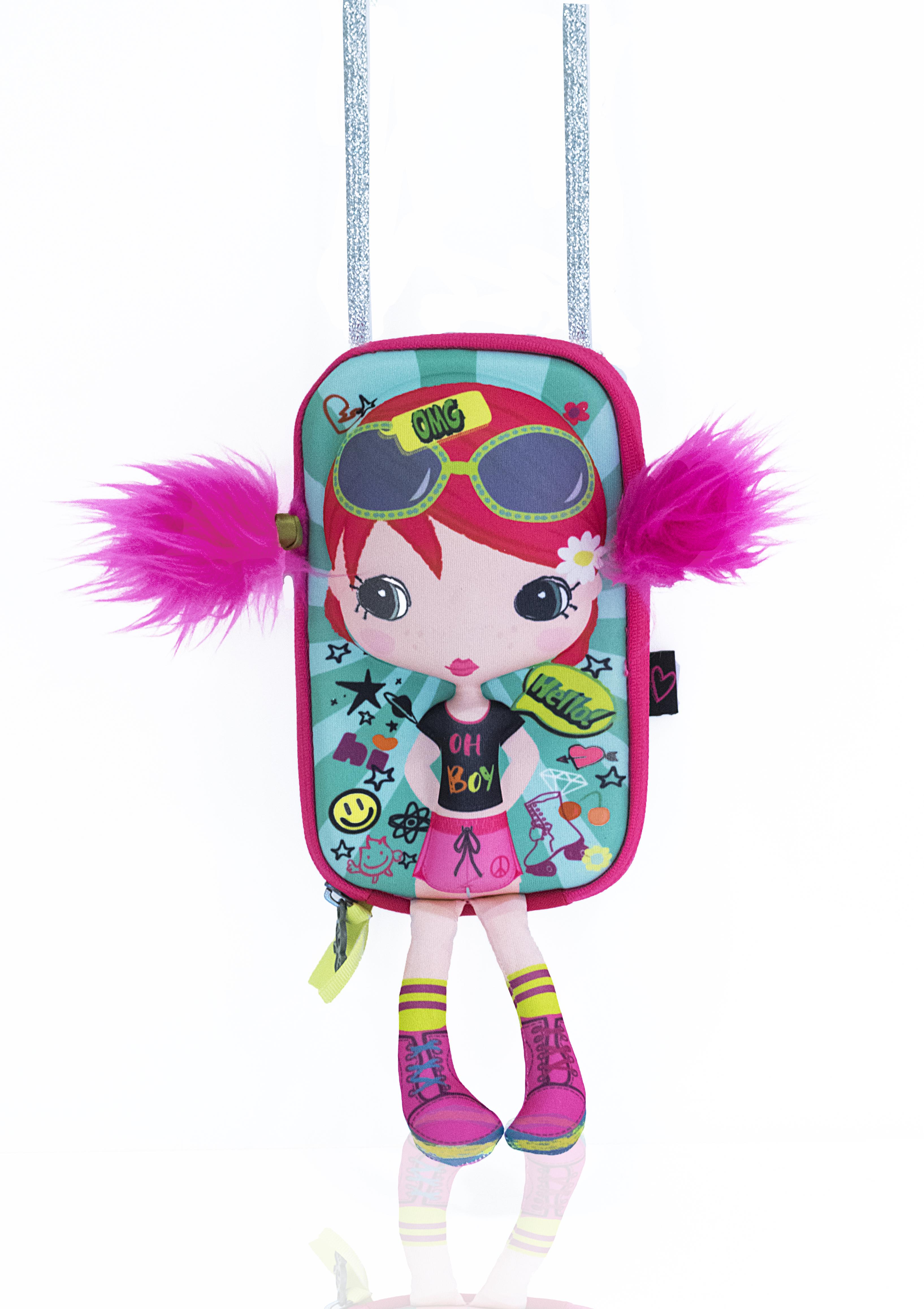 Сумочка-куколка Модница