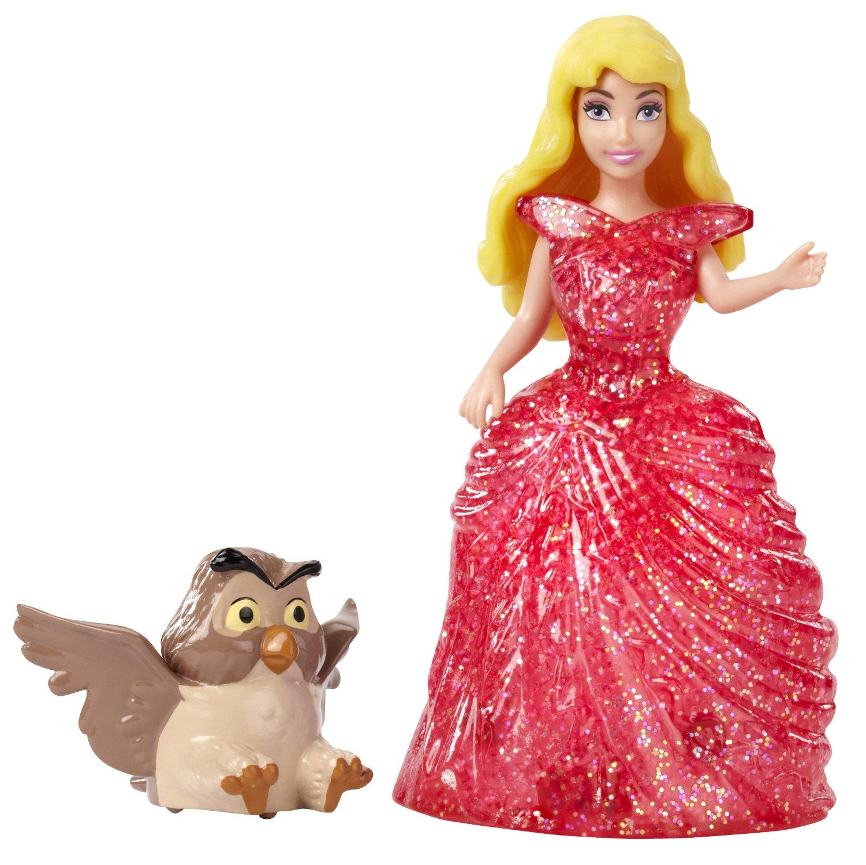 Кукла на колесиках из серии Disney Princess - Спящая красавица и филин от Toyway