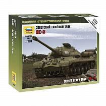 Сборная модель - Советский тяжелый танк ИС-3, 1:100 (Звезда, 6194з)