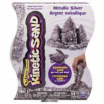 Песок для лепки - Драгоценные камни, 455 г, серебряный (Spin Master, 71408-0027-s)