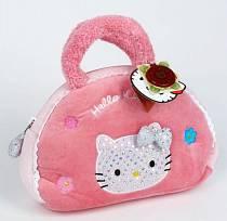 Мягкая сумочка, украшенная пайетками и вышивками, Hello Kitty (Мульти-Пульти, V27360/25Asim)