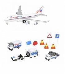 Аэропорт, 13 игрушек (Dickie, 3743001)