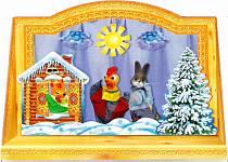 Ширма для кукольного театра (Русский стиль, 3654sim)