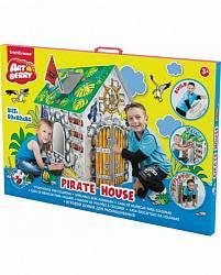 Домик игровой для раскрашивания - Дом Пирата/Pirate house (ErichKrause, 39231)