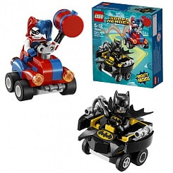 Конструктор Lego Super Heroes - Mighty Micros: Бэтмен против Харли Квин (Lego, 76092)