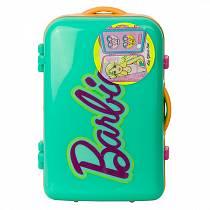 Набор детской декоративной косметики из серии Barbie, в бирюзовом чемоданчике (Markwins, 9600251)