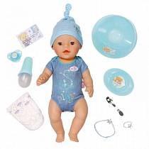BABY born Кукла-мальчик Интерактивная, 43 см. (Zapf Creation,815-809)
