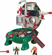 Микро-набор Черепашек-ниндзя - Рафаэль на крыше (Playmates, 87814)