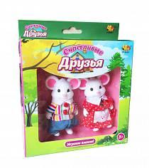 Набор фигурок животных «Счастливые друзья» (ABtoys, PT-00301)