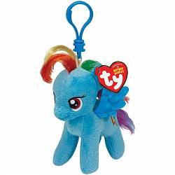 Брелок Пони Rainbow Dash из серии My Little Pony, 15 см. (TY, 41105пц) - миниатюра