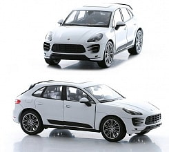 Модель машины 1:24 Porsche Macan Turbo (Welly, 24047)