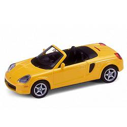 Коллекционная машинка Toyota MR2 Spyder, масштаб 1:34-39 (Welly, 42326) - миниатюра