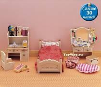 "Набор ""Детская комната"", бежевая (Sylvanian Families, 2960st)"