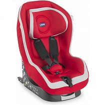Автокресло Go-One Isofix Red, группа 1 - 12м+ (Chicco, 7981970st)