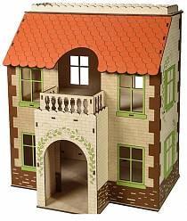 Кукольный дом с черепичной крышей (ЯиГрушка, 59404st)