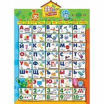 Говорящий плакат Фиксики – Азбука, 10 обучающих программ (Умка, HX0251-R5sim)