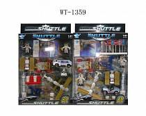 Игровой набор - Космическая станция, 20 предметов (Junfa Toys, JP8105)