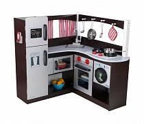 Большая угловая кухня - Эспрессо (KidKraft, 53302_KE)