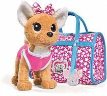 Плюшевая собачка Chi-Chi love - Звездный стиль, с сумочкой, 20 см (Simba, 5893115)