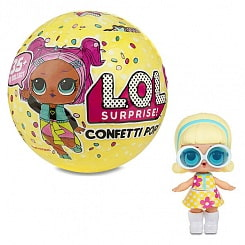 Кукла-сюрприз LOL Confetti Pop Конфетти в шарике (MGA Entertainment, 551515)