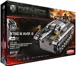 Конструктор World of Tanks Stug III Ausf. G, 299 деталей (Zormaer, 65215) - миниатюра