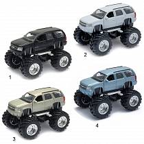 Модель машины Chevrolet Tahoe Big Wheel, 1:34-39 (Welly, 47002)