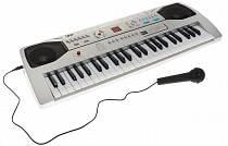 Синтезатор – DoReMi белого цвета, 49 клавиш (ABtoys, d-00036)