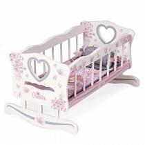 Кроватка-качалка для куклы, серия Мария (DeCuevas, 54117)