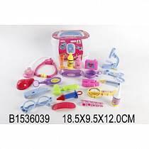 Набор доктора в пластиковом чемодане (Shantou, B1536039sim)