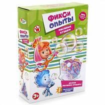 Опыты для детей: Мыльные Пузыри из серии Фиксики (Играем Вместе, TXH-122-Rsim)