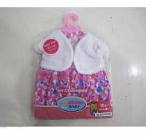 Платье с накидкой для куклы (Baby Dolls, B1552480sim)