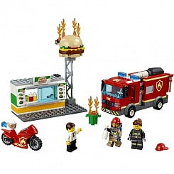 Конструктор Lego City Fire - Пожар в бургер-кафе (Lego, 60214-L)