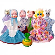 Кукольный театр – Репка, 7 кукол (Кудесники, СИ-698)