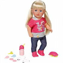 Интерактивная кукла Беби Бон Сестричка, 43 см (ZAPF, 820-704)