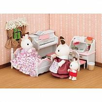 Sylvanian Families - Детская комната, бело-розовая (Sylvanian Families, 5032Sst)