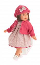 Кукла Аделина в красном, 55 см (Antonio Juans Munecas, 1824R)