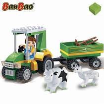 Конструктор Фермерский трактор, 115 деталей (Banbao, 8586)