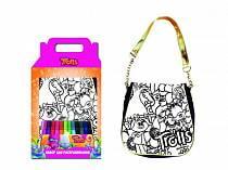 Набор для творчества Тролли - Раскрась сумку (Centrum, 87862)