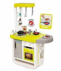Кухня электронная Smoby Cherry, желтая, звук (Smoby, 310908)