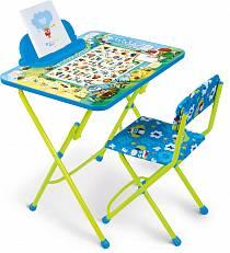 Набор детской мебели Веселая азбука (Ника, КУ2/ВАsim)