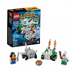 Lego Super Heroes. Mighty Micros: Чудо-женщина против Думсдэя (LEGO, 76070-L)