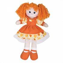 Кукла Апельсинка в платье с сердечками, 40см (Gulliver, 30-11BAC3497)