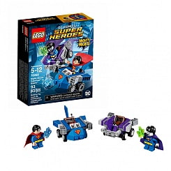 Lego Super Heroes. Mighty Micros: Супермен против Бизарро (LEGO, 76068-L)