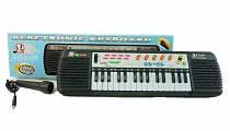 Детский электронный синтезатор с микрофоном Electronic Keyboard (1508M394sim)
