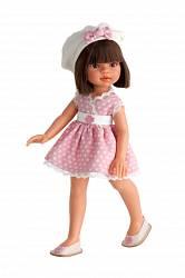 Кукла Эмили летний образ, брюнетка, 33 см. (Antonio Juan Munecas, 2581Br)