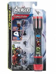 Фонарик-проектор 3 в 1 Marvel Avengers (Tech4Kids, 40005)