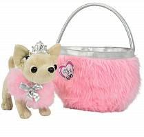 Игрушечная плюшевая собачка Чихуахуа. Принцесса (Simba, 5890618)